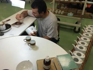 Manufacture de porcelaine