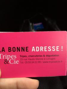 La Bonne Adresse ! De Limoges ..