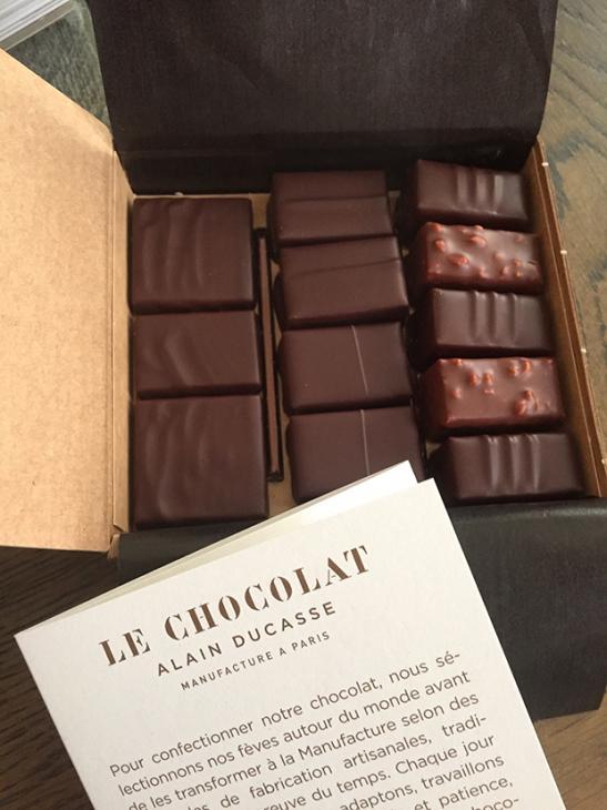 Manufacture de chocolat d'Alain Ducasse