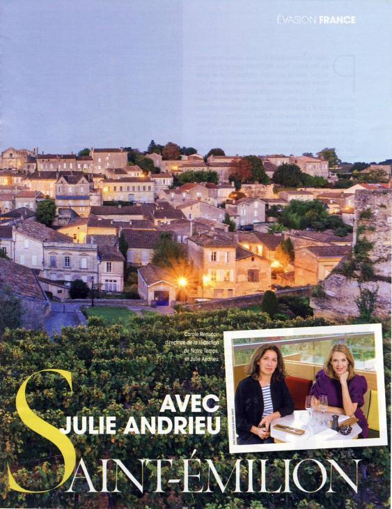 Du côté de Saint-Emilion avec Julie Andrieu - Notre Temps