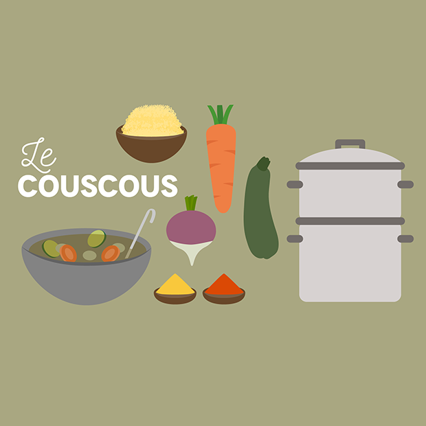 COUSCOUS A LA CARTE - 24 octobre 2016