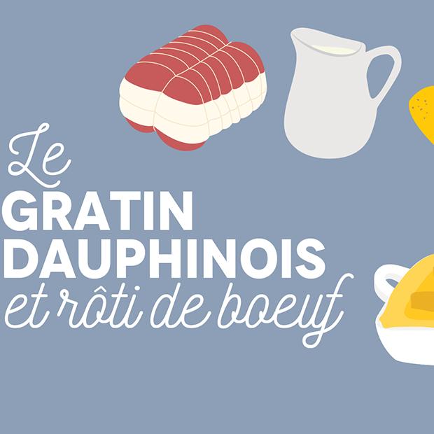 LE GRATIN DAUPHINOIS - 01 octobre 2016