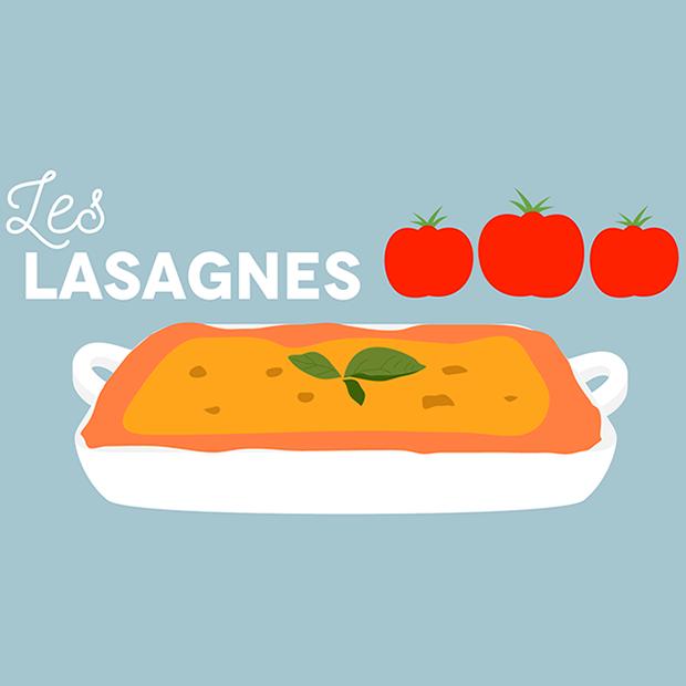 LASAGNES A LA CARTE ! - 25.11 .2016