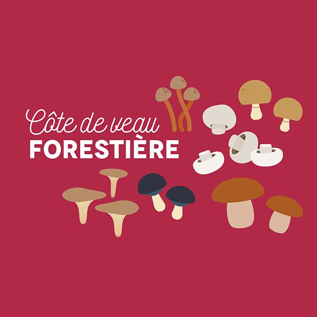 LA CÔTE DE VEAU FORESTIERE - 10.12 .2016