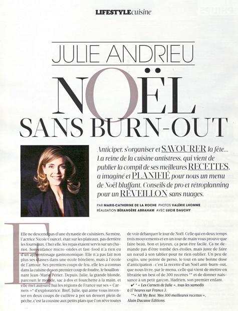 Julie Andrieu - Noël sans burn-out