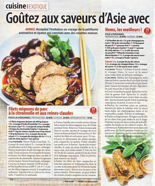 Goûtez aux saveurs d'Asie avec Julie Andrieu