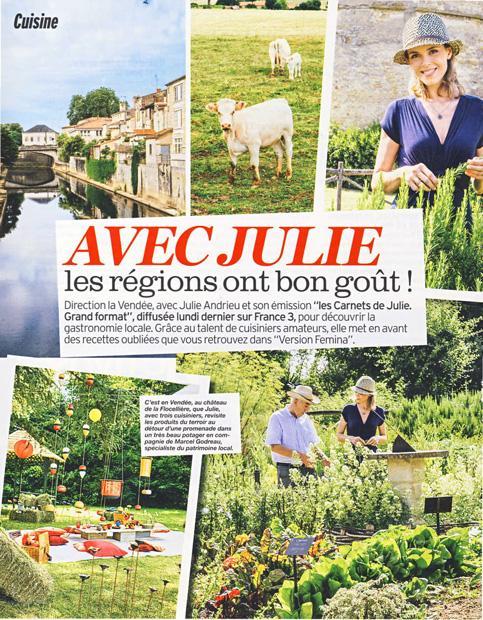 Avec Julie les régions ont bon goût !
