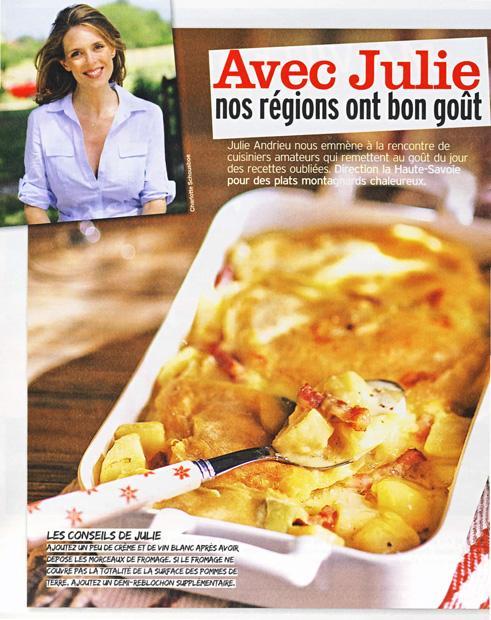 Avec Julie, nos régions ont bon goût - Haute Savoie