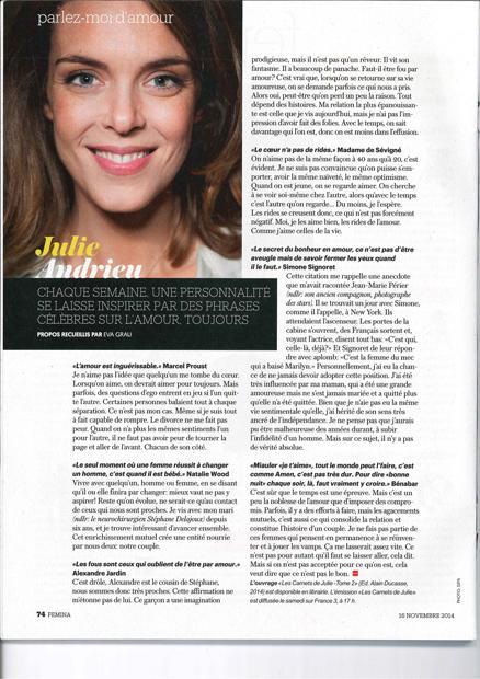 Julie Andrieu - Parlez-moi d'amour
