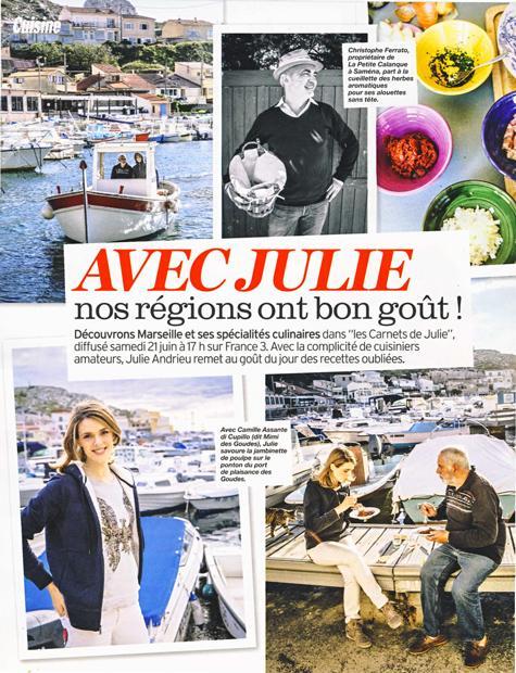 Avec Julie, nos régions ont bon goût – Marseille