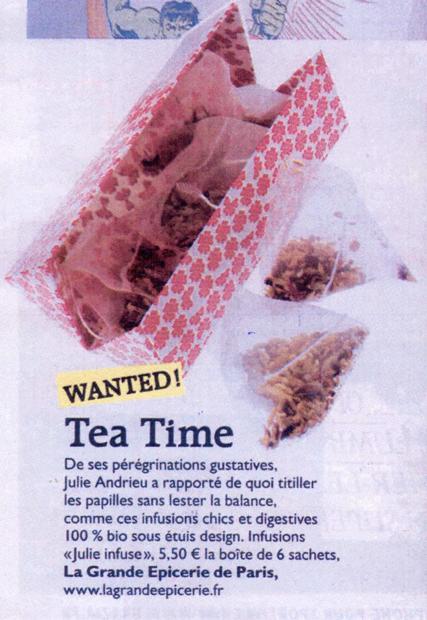 JulieInfuse - Tea Time