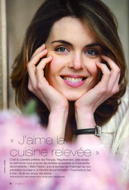 Julie Andrieu, Questions aux étoiles
