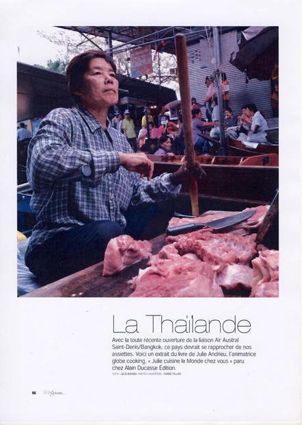 Julie Cuisine le Monde – Thaïlande