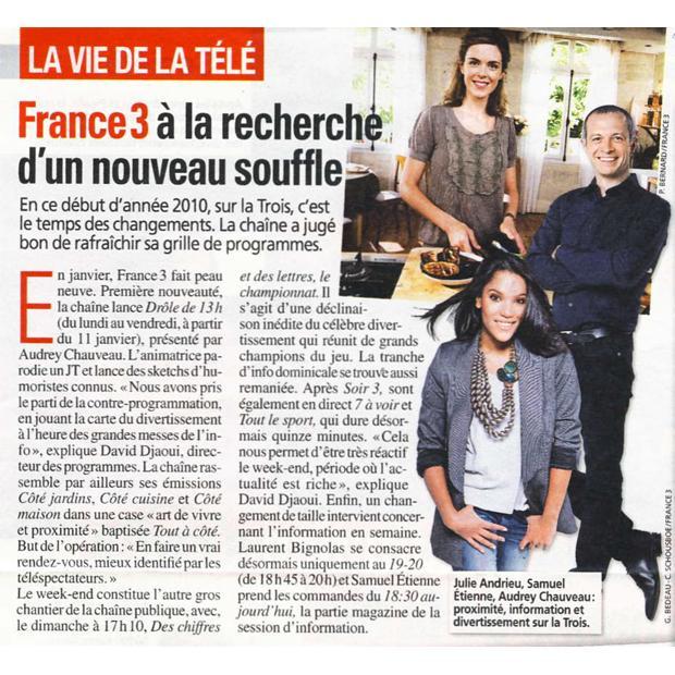 France 3 à la recherche d'un nouveau souffle