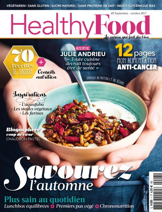 """La cuisine """"healthy"""" de Julie Andrieu"""