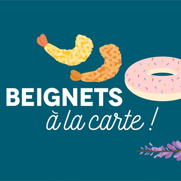 BEIGNETS À LA CARTE!