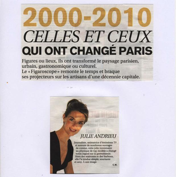 2000 - 2010 - Celles et ceux qui ont changé Paris