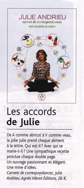 Les accords de Julie