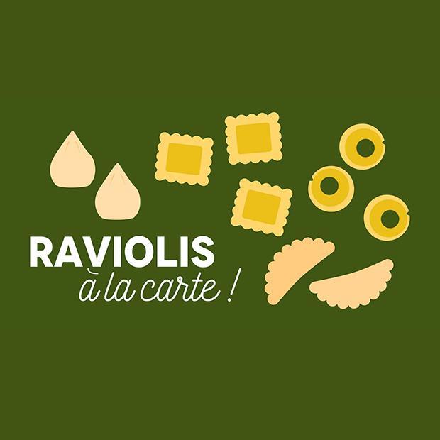 RAVIOLIS À LA CARTE ! - 25 novembre 2017