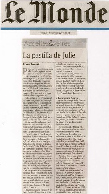 La pastilla de Julie
