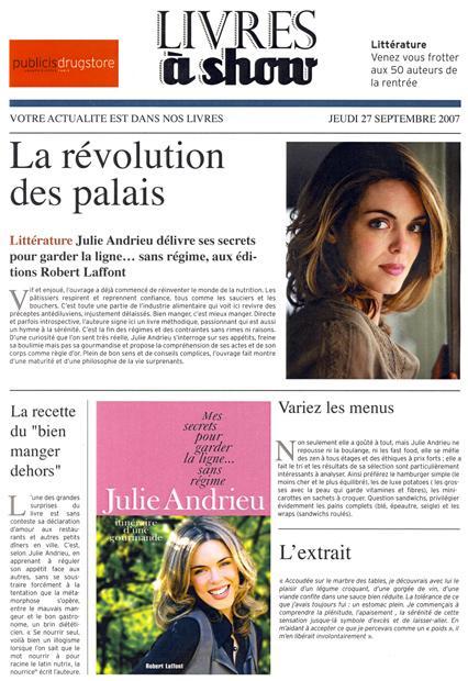 La révolution des palais