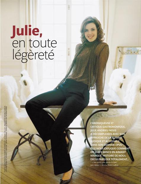 Julie, en toute légèreté