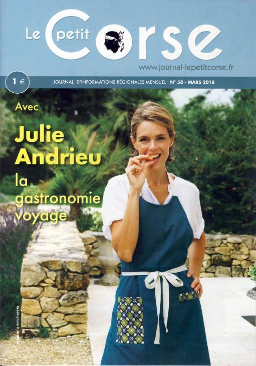 LE PETIT CORSE - Avec Julie Andrieu, la gastronomie voyage - 1 mars 2018