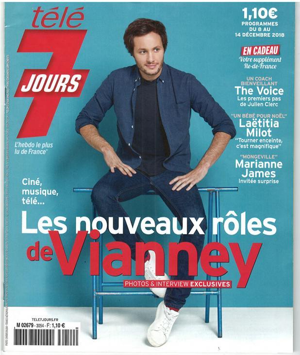 """TELE 7 JOURs - """"Julie Andrieu à la table de François 1er"""" - 8 décembre 2018"""