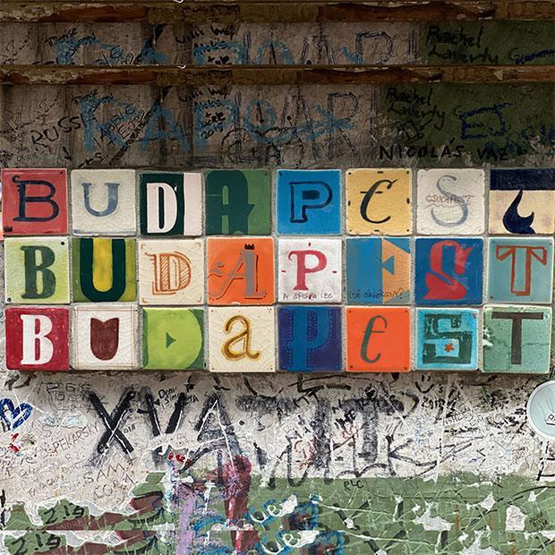 Ma balade à Budapest