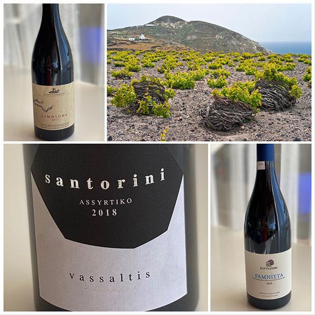 Coup de cœur pour des vins de Grèce