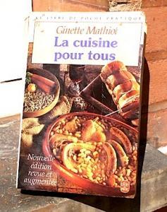 Livre La cuisine pour tous, Ginette Mathiot