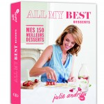 Livre All my best Desserts - Julie Andrieu