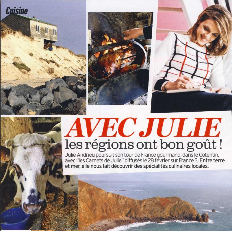 Avec Julie les régions ont bon goût ! – Le Cotentin – Version Fémina