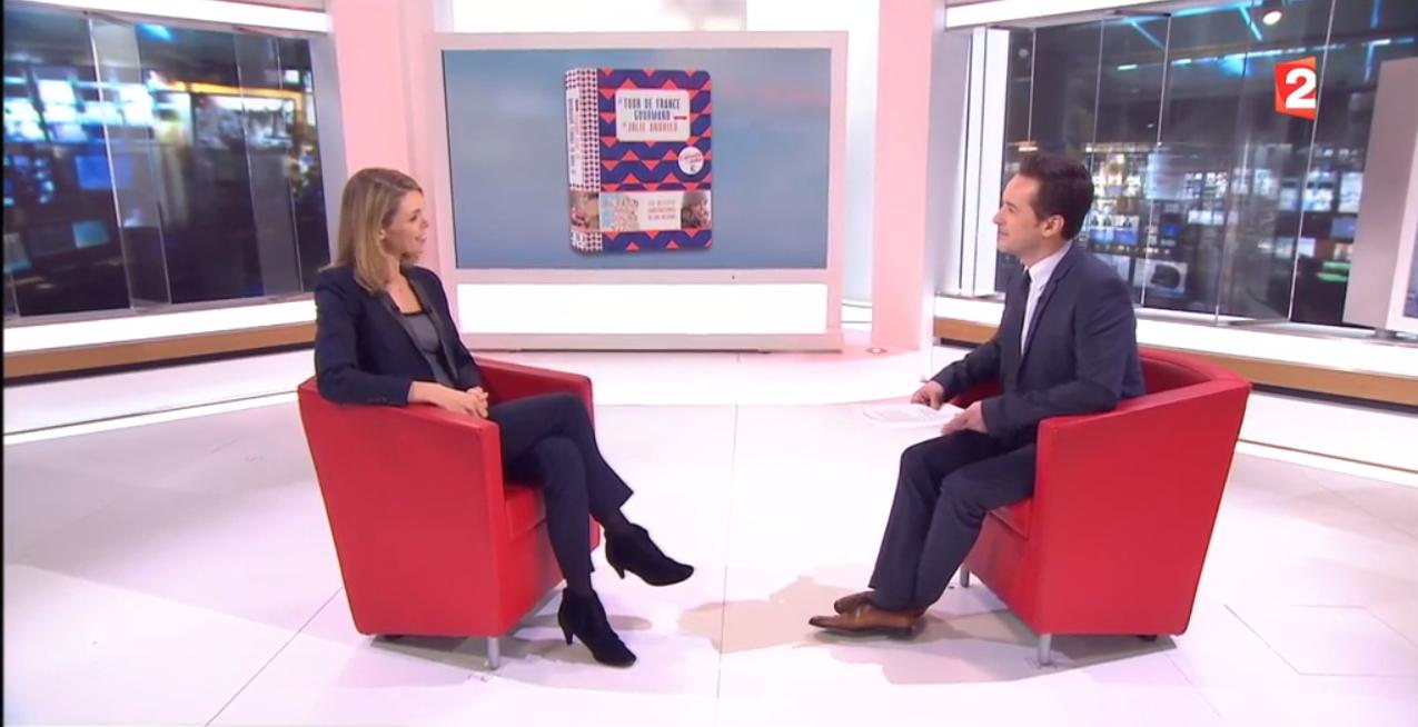 Julie Andrieu, reine de fourneaux de nos regions – Le JT – France 2