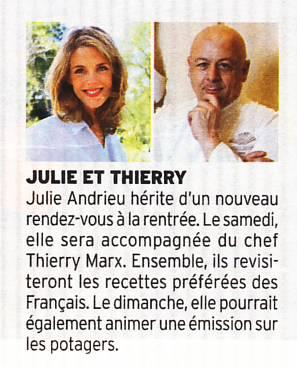 Julie et Thierry – Télé 7 Jours