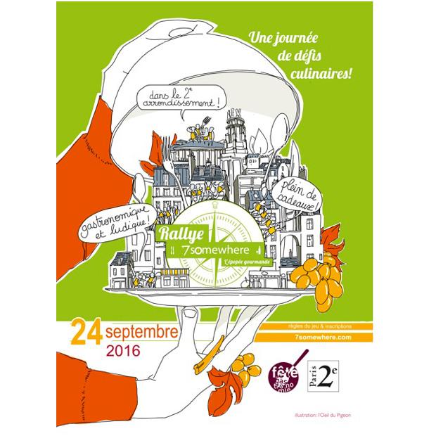 Rallye Gourmand au coeur de Paris