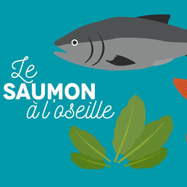 LE SAUMON A L'OSEILLE – 10 Septembre 2016