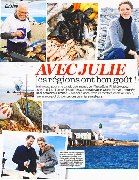 Avec Julie, nos régions ont bon goût – Cornouailles