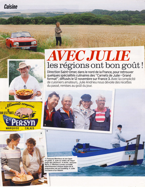 Avec Julie, nos régions ont bon goût – Saint-Omer
