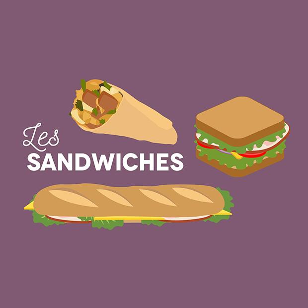 SANDWICHES A LA CARTE – 10 juin 2017