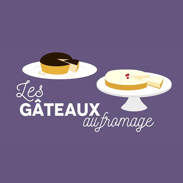 LES GÂTEAUX AU FROMAGE – 21 octobre 2017