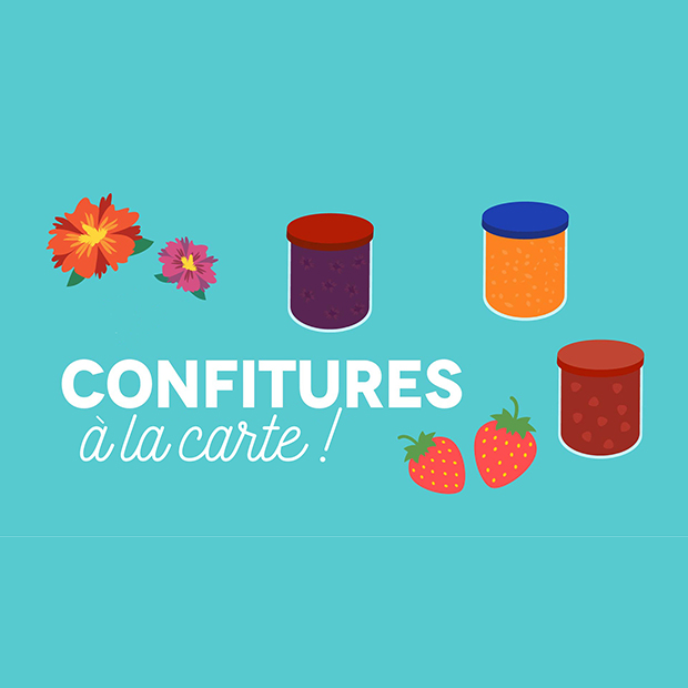 CONFITURES À LA CARTE ! – 11 novembre 2017