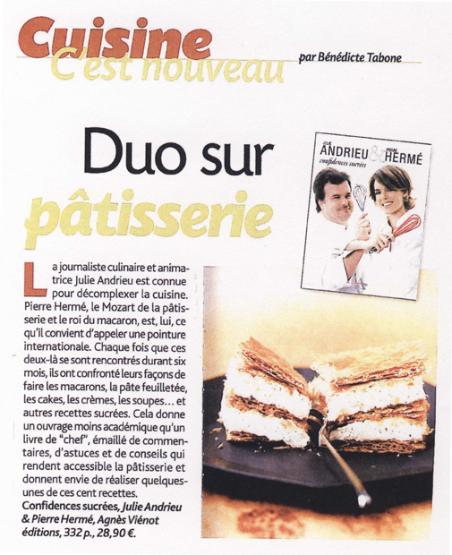 Duo sur patisserie