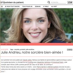 Julie Andrieu, notre sorcière bien aimée