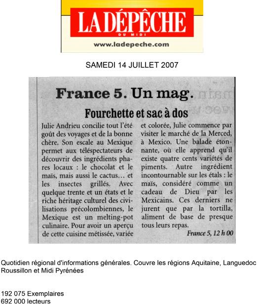 France 5. Un mag