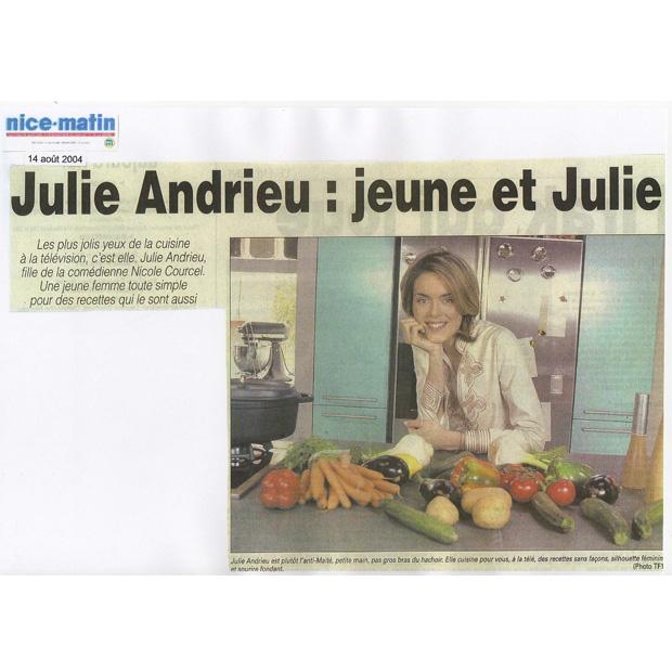 Julie Andrieu: Jeune et Julie