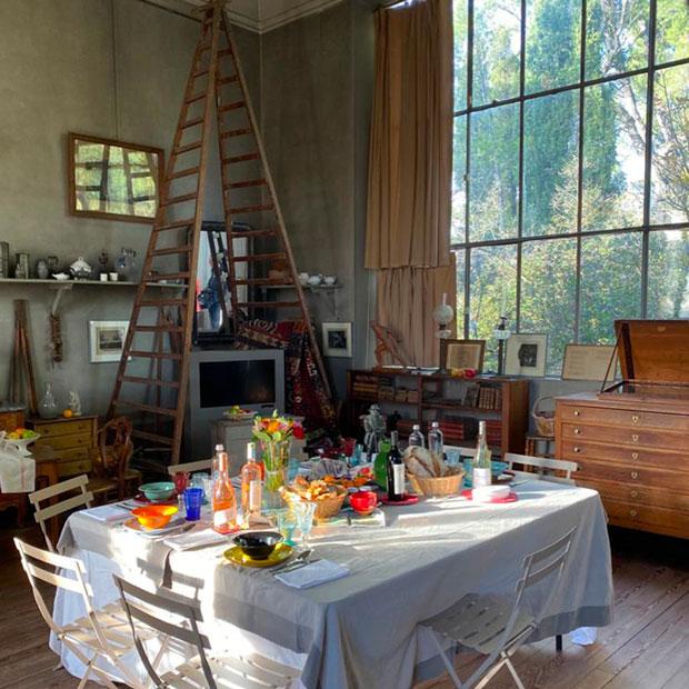 A La Table De Paul Cezanne Les Carnets De Julie